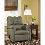 Signature Design by Ashley Darcy Rocker Recliner in Sage Fabric [FSD-1109REC-SAG-GG]