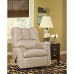 Signature Design by Ashley Darcy Rocker Recliner in Stone Fabric [FSD-1109REC-STO-GG]