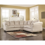 Signature Design by Ashley Darcy Sectional in Stone Fabric [FSD-1109SEC-STO-GG]