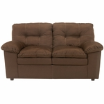 Signature Design by Ashley Mercer Loveseat in Cafe Fabric [FSD-7199LS-CAF-GG]