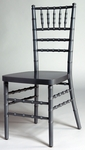 Silver Beechwood Stacking European Chiavari Chair with 16''W Seat [BSCSIL-AS]