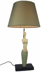 Simple Designs Green Pretty Woman Lamp [LT3013-GRN-FS-ATR]