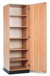 Single Door Storage Cabinet - 24''W X 23''L X 76''H [HAU-8154-FS-HAUS]
