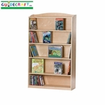 Single-Sided Bookcase - 60''H [G97014-FS-GUI]