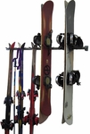 Powder Coated Steel Ski and Snowboard Storage Rack [03007-FS-MBG]