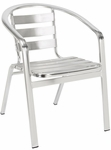 Slat Back & Seat Aluminum Chair [55-SAT]