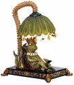 Sleeping King Frog Mini Lamp