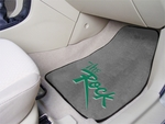 Slippery Rock University 2-piece Carpeted Car Mats 18'' x 27'' [7923-FS-FAN]