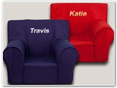 Small Personalized Kids Chairs