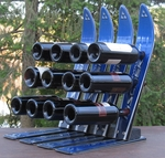 Snow Ski 12 Bottle Wine Rack [WINE12-FS-ISK]