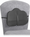 SoftSpot® 14'' W x 2.5'' D x 11'' H Low Profile Backrest - Set of Five - Black [7151BL-FS-SAF]