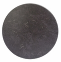 SoHo 24'' Round Weather-Resistant Top - Grey Slate