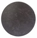 SoHo 30'' Round Weather-Resistant Top - Grey Slate