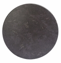 SoHo 36'' Round Weather-Resistant Top - Grey Slate