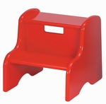 Solid Color Kid's Step Stool [105MDF-FS-LC]