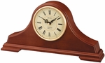 Solid Oak Mantel Clock with Chime [QXJ008BLH-FS-SEI]