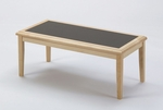 Somerset Series Coffee Table with Charcoal Matrix Inlay [F1450T5-C-FS-RO]