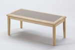 Somerset Series Coffee Table with Gray Matrix Inlay [F1450T5-G-FS-RO]