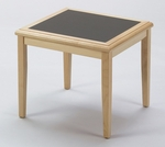 Somerset Series Corner Table with Charcoal Matrix Inlay [F1350T5-C-FS-RO]