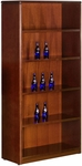 OSP Furniture Sonoma Wood 5-Shelf Bookcase - Cherry [SON-56-FS-OS]