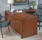 OSP Furniture Sonoma Wood 72'' Right L-Shaped Corner Desk - Cherry [SONTYP10R-FS-OS]