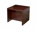 OSP Furniture Sonoma Wood End Table - Cherry [SON-20-FS-OS]