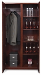 OSP Furniture Sonoma Wood Wardrobe/Storage - Cherry [SON-51-FS-OS]