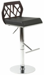 Sophia Bar/Counter Stool in Wenge [27146-FS-ERS]