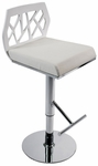 Sophia Bar/Counter Stool in White [27144-FS-ERS]