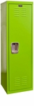 Sour Apple Green Kids Standard Locker Unassembled - 15''W x 15''D x 48''H [HKL151548-1SA-HAL]