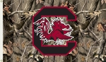 South Carolina Gamecocks 3' X 5' Flag with Grommets - Realtree Camo Background [95426-FS-BSI]