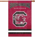 South Carolina Gamecocks Applique Banner Flag [AFSC-FS-PAI]