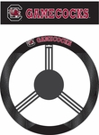 South Carolina Gamecocks Poly-Suede Steering Wheel Cover [58560-FS-BSI]