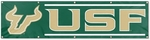 South Florida Bulls Giant 8' x 2' Banner [BSFL-FS-PAI]