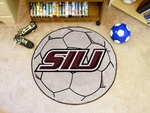 Southern Illinois University Soccer Ball Mat 27'' Diameter [3589-FS-FAN]