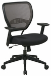 Space Air Grid Series Latte Air Grid Back Deluxe Task Chair with Mesh Seat - Latte [55-38N17-FS-OS]