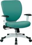 Space Pulsar Fabric Seat and Back Managers Office Chair - Dove Jade [5200W-5881-FS-OS]