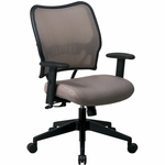 Space VERA Series Deluxe Task Chair with VeraFlex Back - Latte [13-V88N1WA-FS-OS]