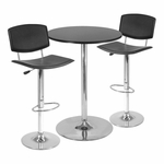 Spectrum 3-Pc 28'' Pub Table Set [93340-FS-WWT]