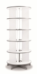 Spin N File Five Tier Rotary Binder Storage Carousel [TURN5-FS-EOS]