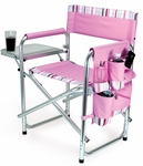 Sports Chair - Pink with Stripes [809-00-102-000-0-FS-PNT]