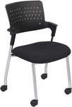 Spry™ 1.5'' W x 20'' D x 32.25'' H Guest Chair - Set of Two - Black [4013BL-SAF]
