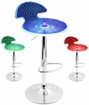 Spyra Swivel Bar Stool [BS-SPYRA-PC-FS-LUMI]