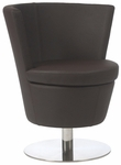 Squire Swivel Chair in Brown [17612BRN-FS-ERS]