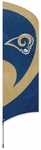 St. Louis Rams Tall Team Flag w/ Pole [TTRM-FS-PAI]