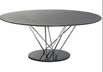 Stacy Oval Dining Table [27042A-27042B-27042C-FS-ERS]