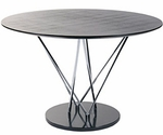 Stacy Round Dining Table [27046A-27046B-27046C-FS-ERS]