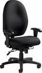 Stamina+ High Back 24 Hour Posture Task Chair with 350lb. Capacity - Grade 3 [2440-GR3-FS-GLO]