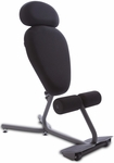 Stance Move EXT Ergonomic Sit-and-Stand Chair - Gray [5050-FS-HPO]
