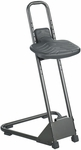 Stand Alone 21'' Adjustable Height Drafting Stool - Black [5126-FS-SAF]